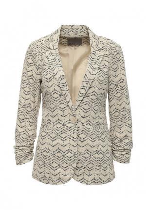 Пиджак Vero Moda. Цвет: бежевый