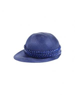 Головной убор GIGI BURRIS MILLINERY. Цвет: синий