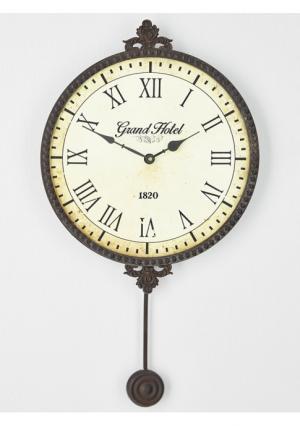 Часы с маятником Heine Home. Цвет: коричневый