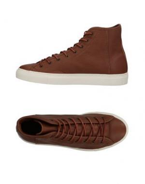 Высокие кеды и кроссовки DIEMME. Цвет: коричневый