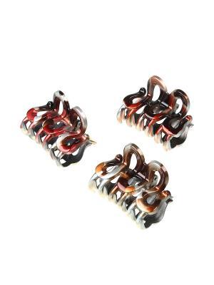 Краб (Комплект - 3 шт.) Migura. Цвет: коричневый, красный, серебристый