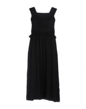 Платье до колена ORLA KIELY. Цвет: черный