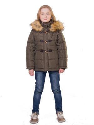Куртка SAIMA. Цвет: хаки