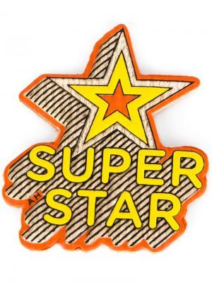 Стикер Super Star Anya Hindmarch. Цвет: многоцветный