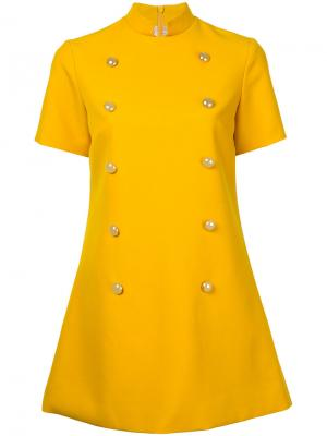 Платье Virtue Macgraw. Цвет: жёлтый и оранжевый