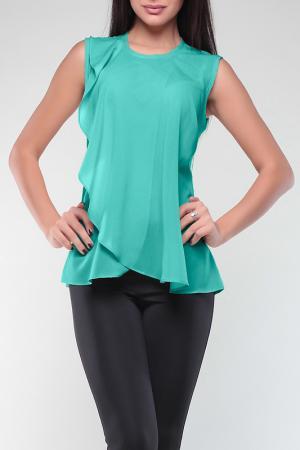 Блуза REBECCA TATTI. Цвет: ментоловый