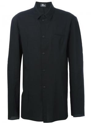 Приталенная рубашка Lost & Found Ria Dunn. Цвет: чёрный