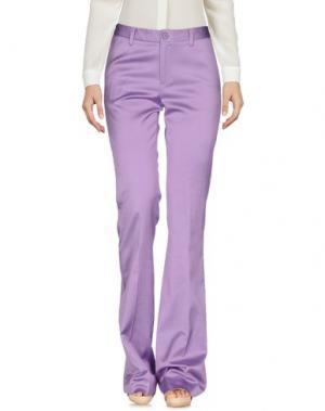 Повседневные брюки KITAGI®. Цвет: сиреневый