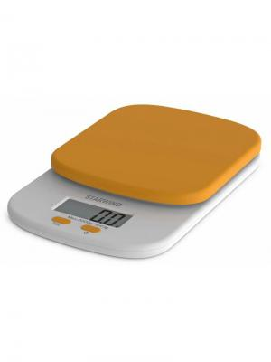 Весы кухонные Starwind SSK2158, оранжевый. Цвет: оранжевый