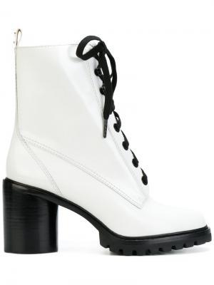 Ботинки на шнуровке Ryder Marc Jacobs. Цвет: белый