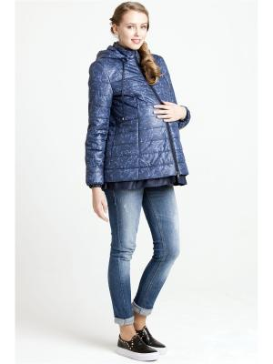 Куртка Modress. Цвет: синий