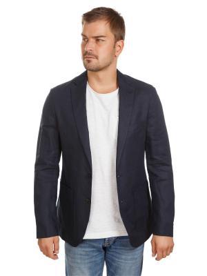 Пиджак льяняной McNeal. Цвет: синий