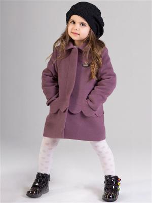 Пальто babyAngel. Цвет: сливовый