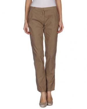 Повседневные брюки ..,MERCI. Цвет: хаки