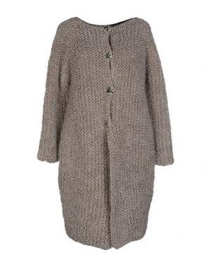 Легкое пальто NORA BARTH. Цвет: серый