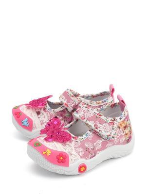 Туфли TRIEN. Цвет: розовый