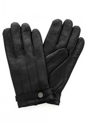 Перчатки SMALTO. Цвет: черный