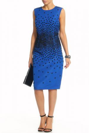 Платье-футляр Jason Wu. Цвет: синий