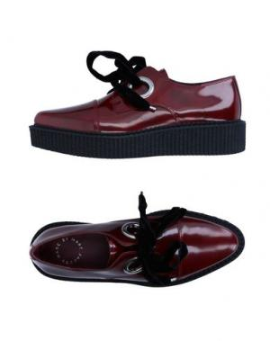Обувь на шнурках MARC BY JACOBS. Цвет: кирпично-красный