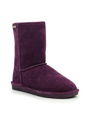 Угги Bearpaw. Цвет: фиолетовый