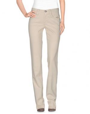 Повседневные брюки CARLO CHIONNA. Цвет: слоновая кость
