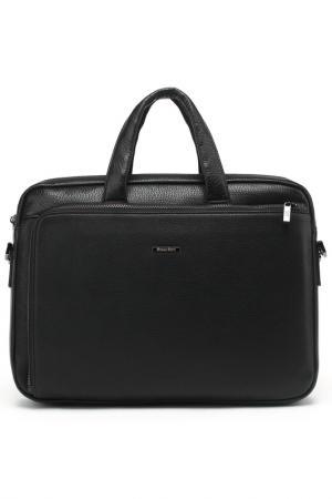 Бизнес-сумка Bruno Perri. Цвет: черный