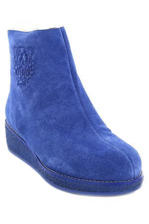 Ботинки Kenzo. Цвет: синий