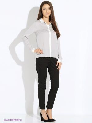 Блузка TOM TAILOR. Цвет: серый