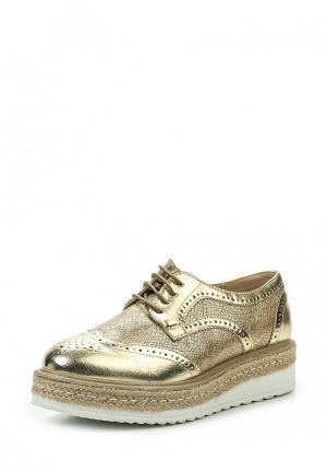 Ботинки La Bottine Souriante. Цвет: золотой