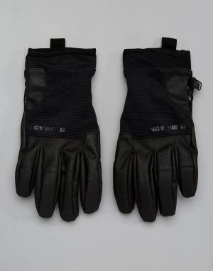 Armada Черные перчатки с флисовой подкладкой Throttle. Цвет: черный