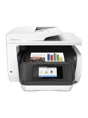Струйный МФУ HP OfficeJet Pro 8720 e-AiO (D9L19A) A4 Duplex WiFi USB RJ-45 белый. Цвет: белый