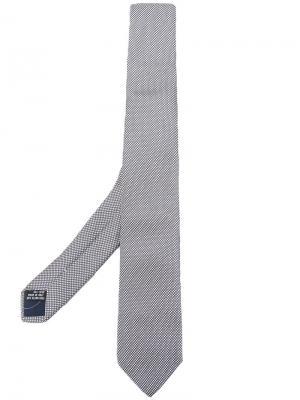 Классический галстук Tonello. Цвет: серый