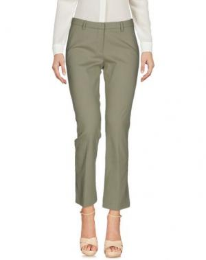 Повседневные брюки TRUE ROYAL. Цвет: зеленый-милитари