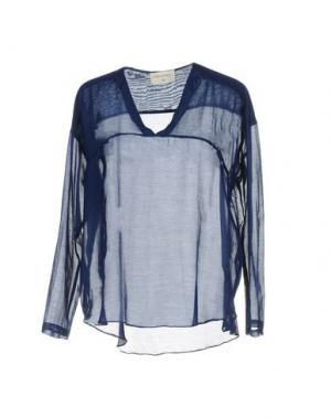 Блузка SONIA DE NISCO. Цвет: синий