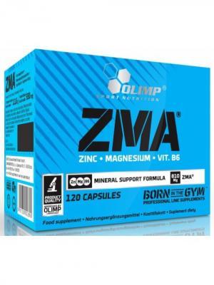 Витаминно-минеральный комплекс  OLIMP ZMA 120 капс Nutrition. Цвет: черный
