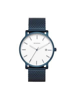 Часы SKAGEN. Цвет: синий, белый