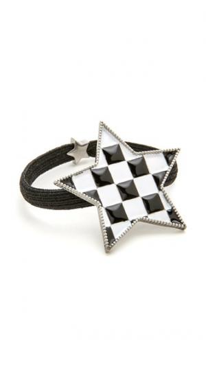 Резинка для волос со звездой в шахматную клетку Marc Jacobs