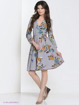 Платье Культ платья BRACEGIRDLE. Цвет: серый