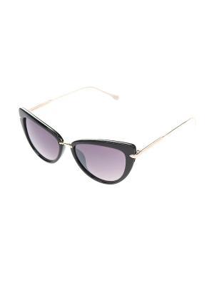 Очки солнцезащитные Gusachi. Цвет: черный, коричневый