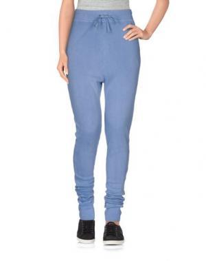 Повседневные брюки PAM & GELA. Цвет: небесно-голубой