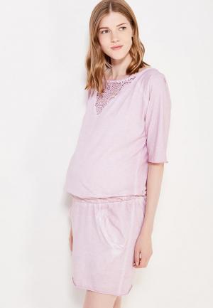 Платье 9fashion Woman. Цвет: розовый