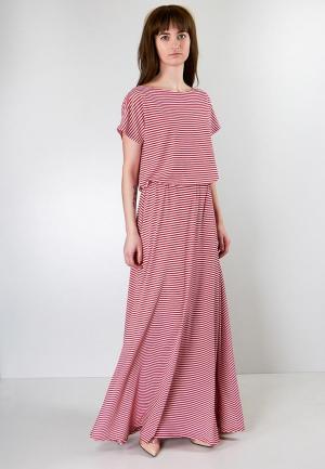 Платье Marina Rimer. Цвет: красный