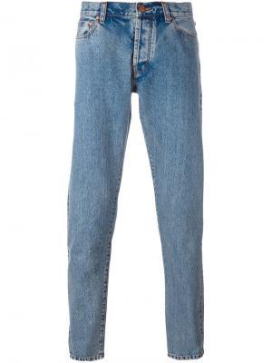 Зауженные джинсы Han Kjøbenhavn. Цвет: синий
