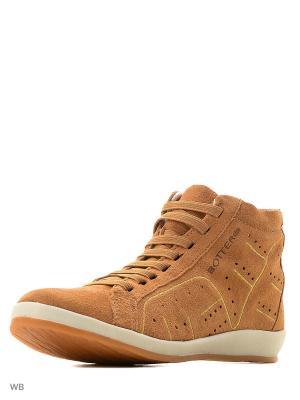 Ботинки Bottero. Цвет: бежевый