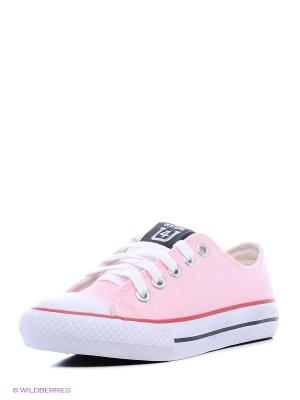 Кеды 4U. Цвет: бледно-розовый, фуксия