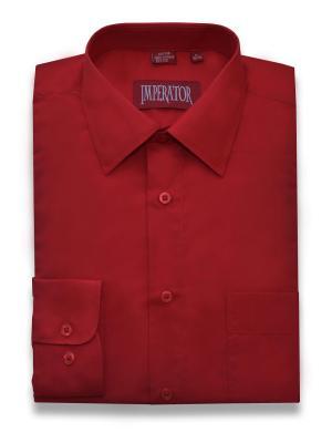 Рубашка Imperator. Цвет: красный