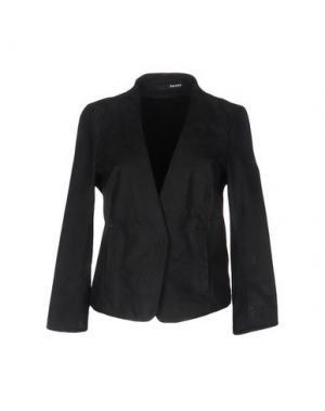 Пиджак DACUTE. Цвет: стальной серый