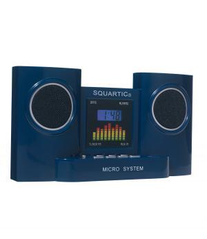 Радиочасы с Будильником Squartic Sound AFM