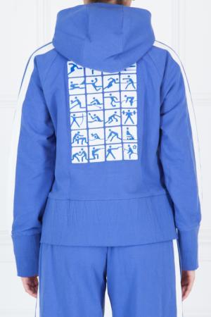 Толстовка Олимпиада DENIS SIMACHEV. Цвет: голубой