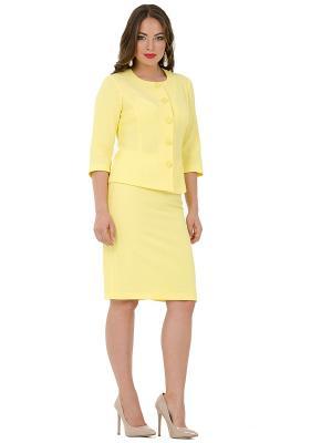 Пиджак PROFITO AVANTAGE. Цвет: желтый